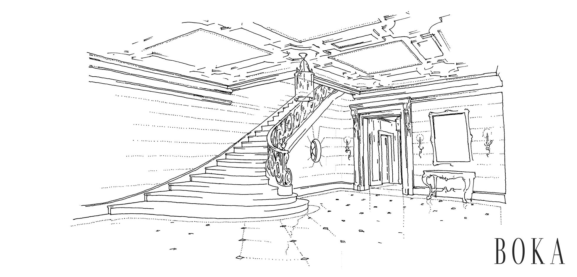 1 Upper Eastside Townhouse Main Stair Hall