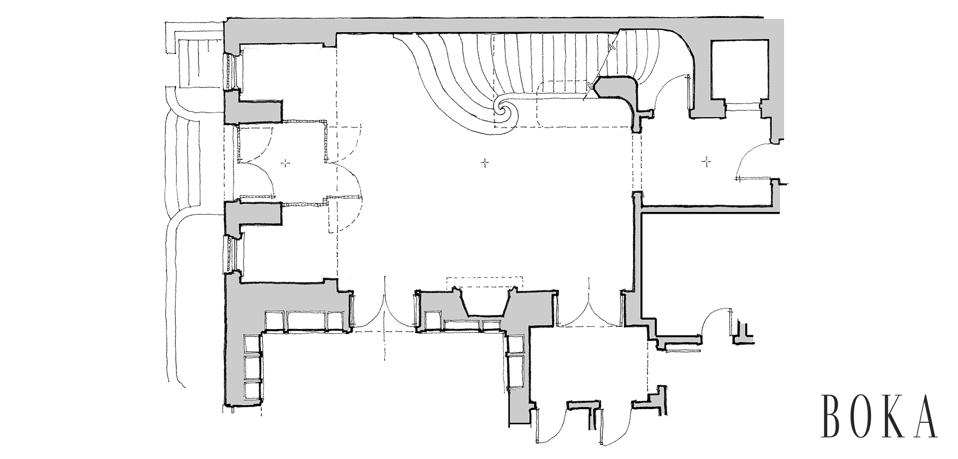 3 Upper Eastside Townhouse Main Stair Hall