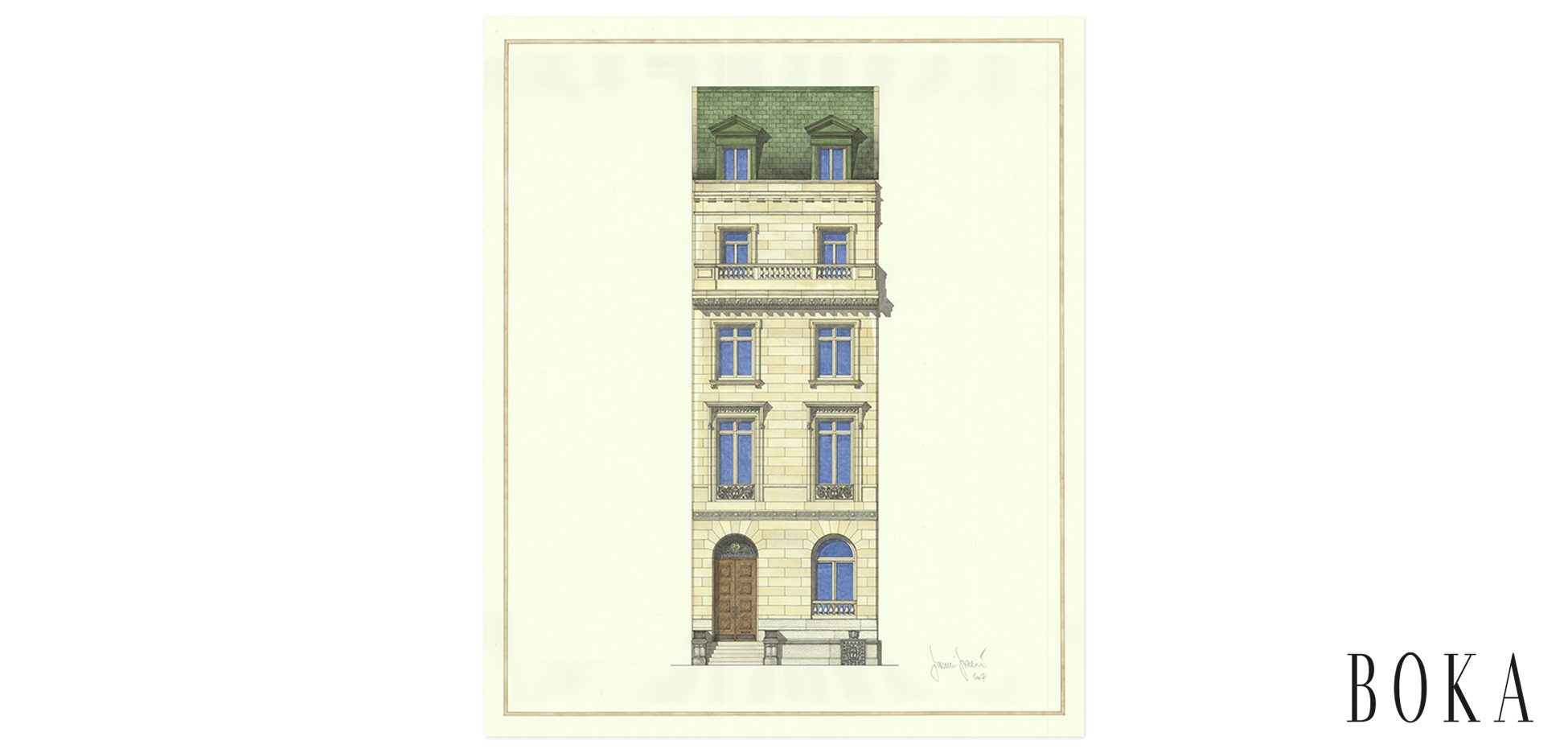 Upper Eastside Townhouse Facade Study